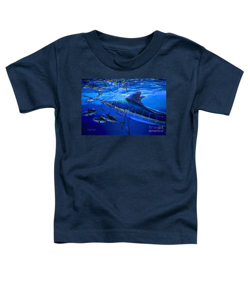 Out Of The Blue Toddler T-Shirt by Carey Chen