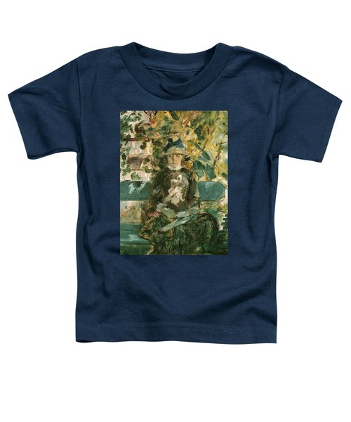 Portrait Of Adele Tapie De Celeyran Toddler T-Shirt by Henri de Toulouse-Lautrec
