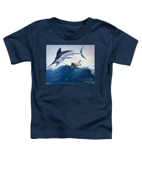The Old Man And The Sea Toddler T-Shirt by Harry G Seabright