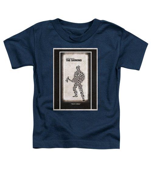 The Shining Toddler T-Shirt by Ayse Deniz