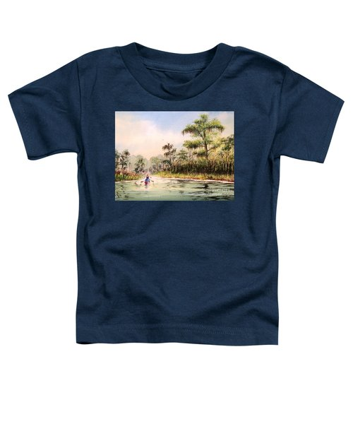 Wacissa River  Toddler T-Shirt by Bill Holkham