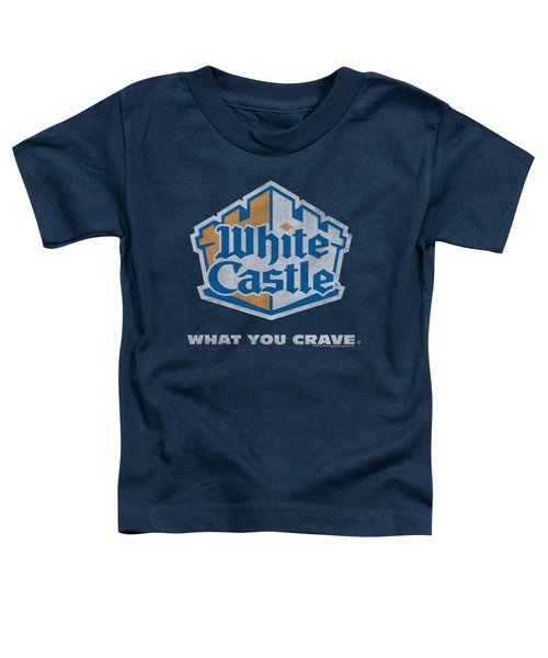 White Castle - Distressed Logo Toddler T-Shirt by Brand A