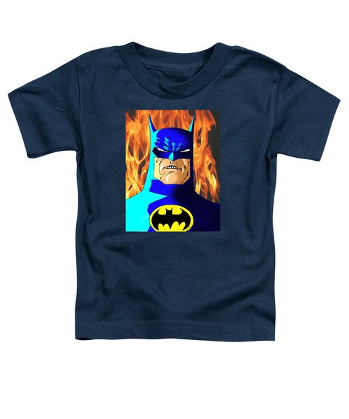 Old Batman Toddler T-Shirt by Salman Ravish