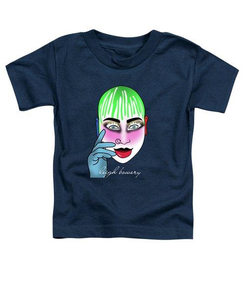 Leigh Bowery  Toddler T-Shirt by Mark Ashkenazi
