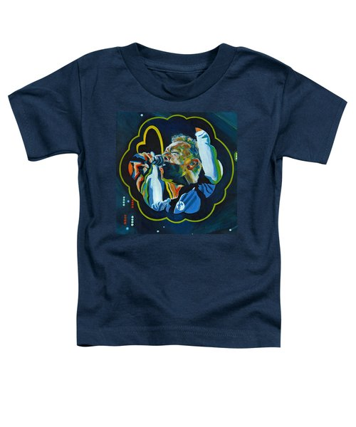 Believe In Love - Chris Martin Toddler T-Shirt by Tanya Filichkin