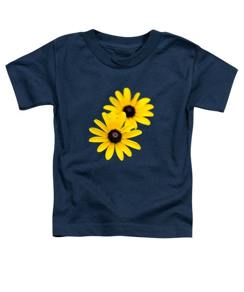 Black Eyed Susans Toddler T-Shirt by Christina Rollo