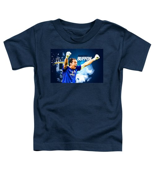 Buffon Toddler T-Shirt by Semih Yurdabak