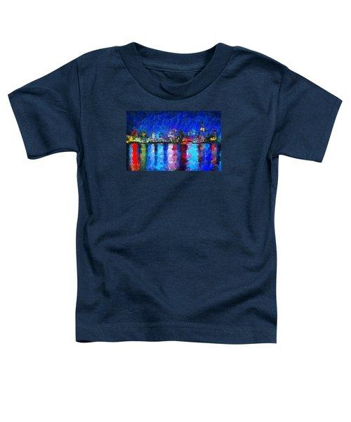City Limits Tokyo Toddler T-Shirt by Sir Josef Social Critic - ART