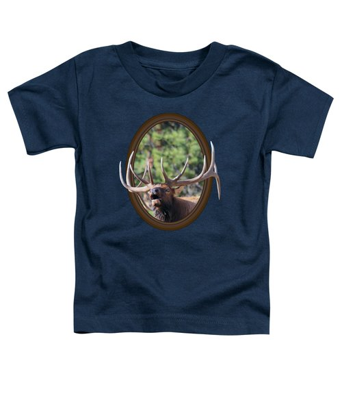 Colorado Bull Elk Toddler T-Shirt by Shane Bechler