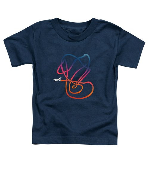 Drunk Drone Toddler T-Shirt by Illustratorial Pulse