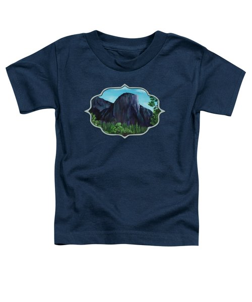 El Capitan Toddler T-Shirt by Anastasiya Malakhova