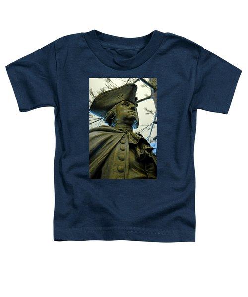 General George Washington Toddler T-Shirt by LeeAnn McLaneGoetz McLaneGoetzStudioLLCcom
