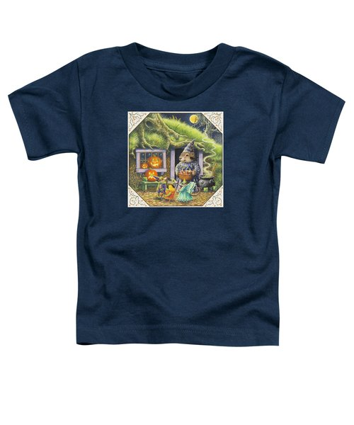 Halloween Costumes Toddler T-Shirt by Lynn Bywaters