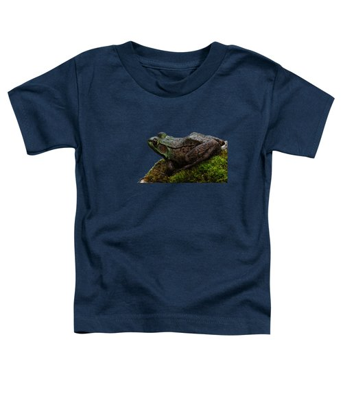 King Of The Rock Toddler T-Shirt by Debbie Oppermann