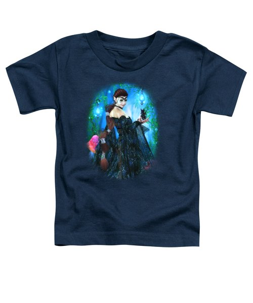 Lady Of The Dragon Fae Toddler T-Shirt by Brandy Thomas