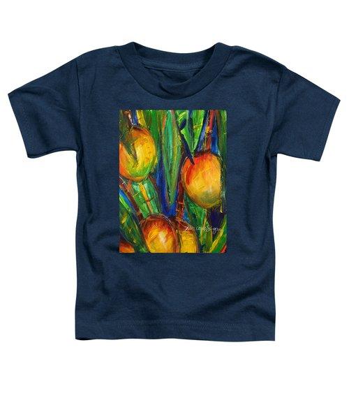 Mango Tree Toddler T-Shirt by Julie Kerns Schaper - Printscapes
