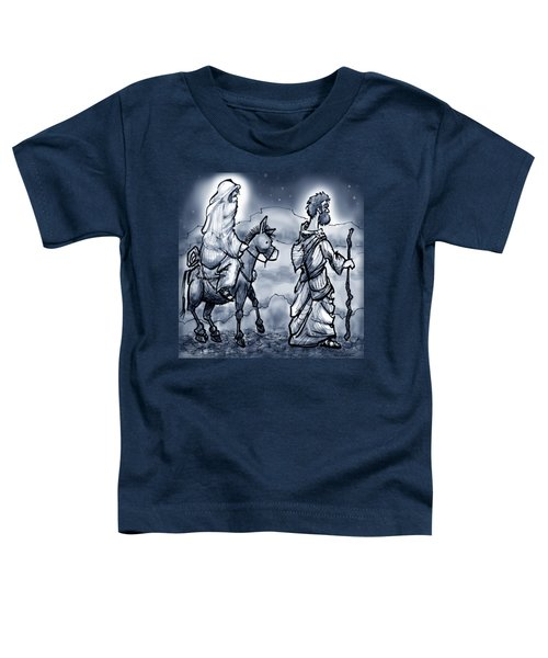 Mary And Joseph  Toddler T-Shirt by Kevin Middleton
