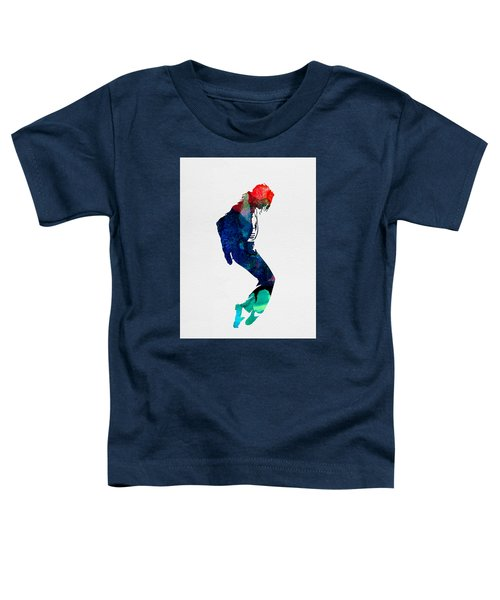 Michael Watercolor Toddler T-Shirt by Naxart Studio