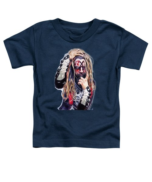 Rob Zombie Toddler T-Shirt by Melanie D