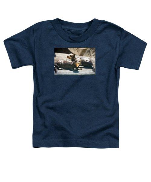 Siblings Toddler T-Shirt by Jamie Pham