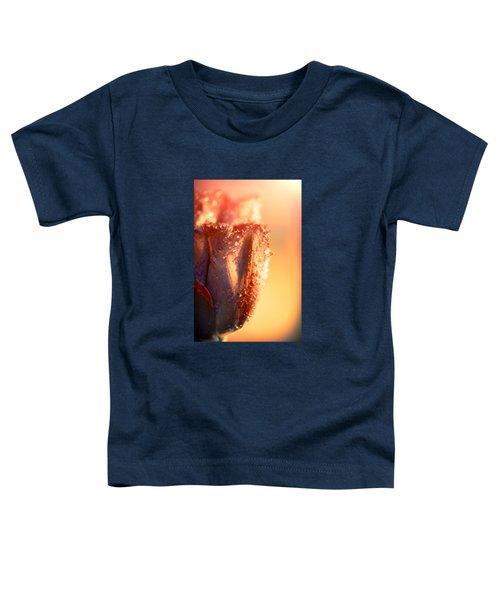 Sun Rays Flower Toddler T-Shirt by Konstantin Sevostyanov