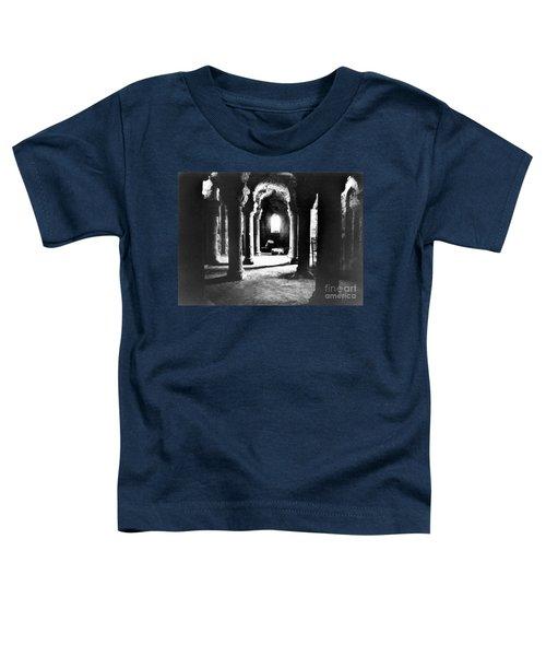 The Crypt Toddler T-Shirt by Simon Marsden