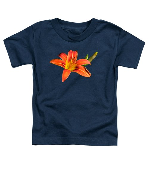 Tiger Lily Toddler T-Shirt by Christina Rollo