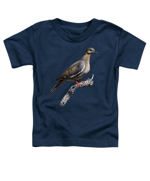 White-winged Dove V53 Toddler T-Shirt by Mark Myhaver