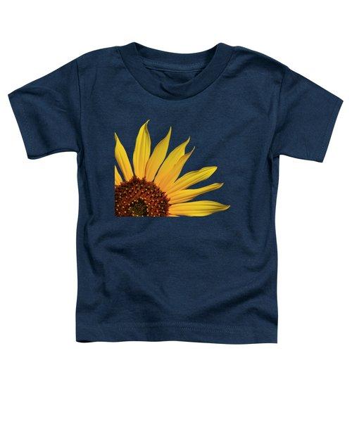 Wild Sunflower Toddler T-Shirt by Shane Bechler