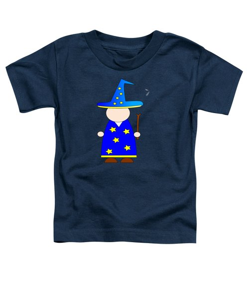 Wizard #2 Toddler T-Shirt by Frederick Holiday