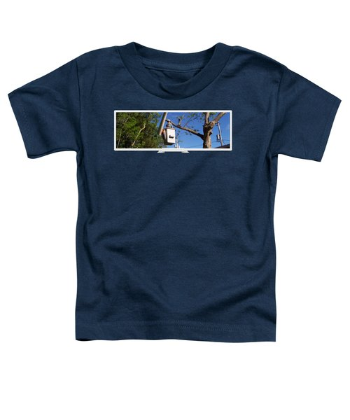 Woodland Tree Service Toddler T-Shirt by Evergreenarborists