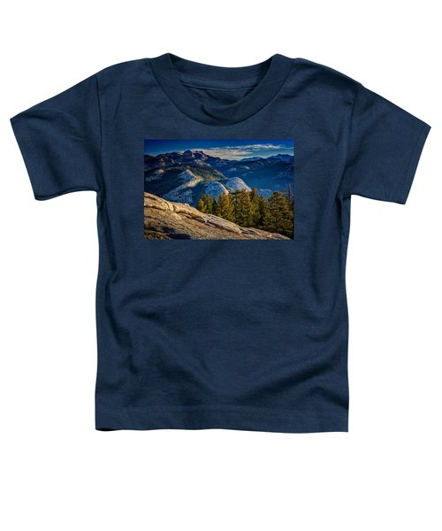 Yosemite Morning Toddler T-Shirt by Rick Berk