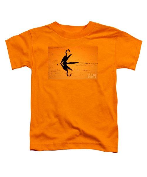 Anhinga Toddler T-Shirt by Art Wolfe