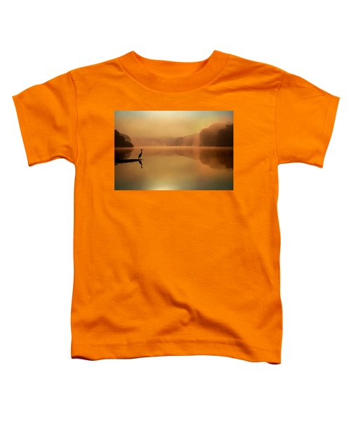 Beside Still Waters Toddler T-Shirt by Rob Blair