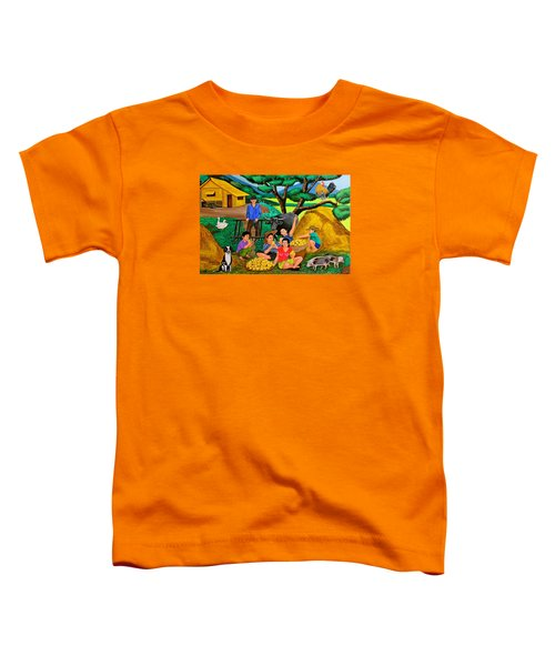 Harvest Time Toddler T-Shirt by Cyril Maza