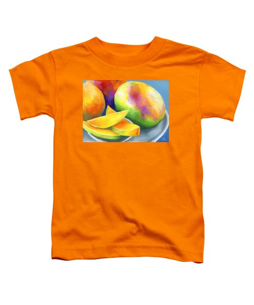Last Mango In Paris Toddler T-Shirt by Stephen Anderson