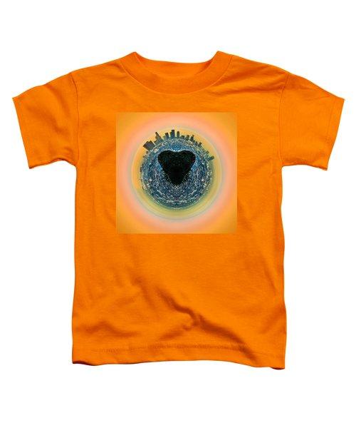 Love La Toddler T-Shirt by Az Jackson