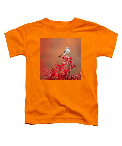 Mockingbird Autumn Square Toddler T-Shirt by Bill Wakeley