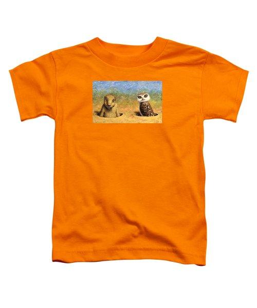 Neighbors Toddler T-Shirt by James W Johnson