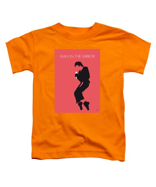 No032 My Michael Jackson Minimal Music Poster Toddler T-Shirt by Chungkong Art