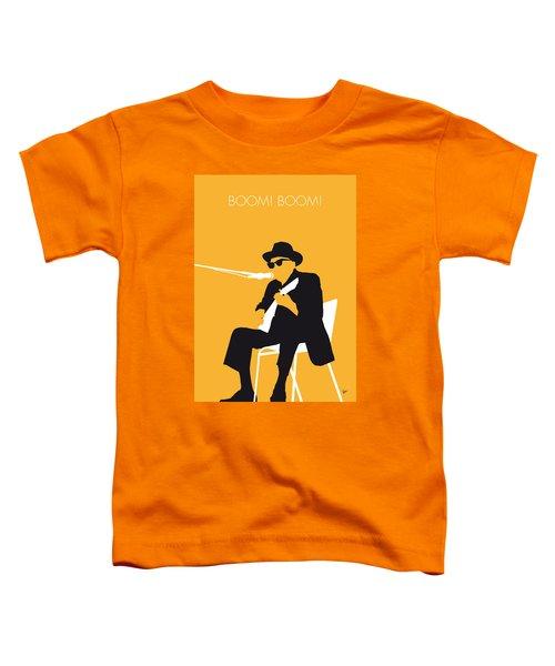 No054 My Johnny Lee Hooker Minimal Music Poster Toddler T-Shirt by Chungkong Art