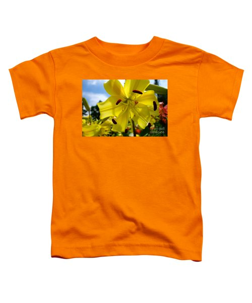 Yellow Whopper Lily 2 Toddler T-Shirt by Jacqueline Athmann
