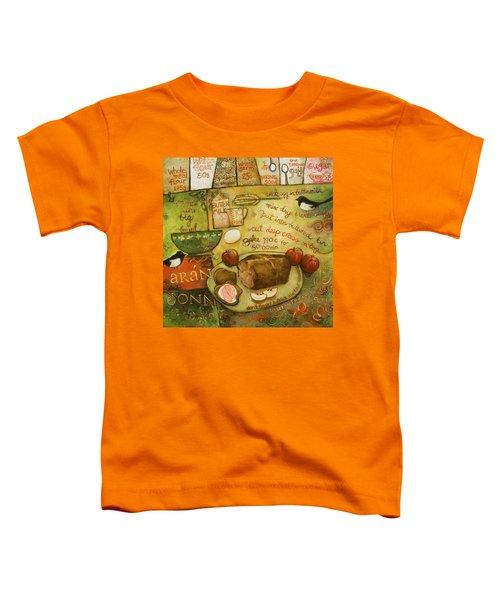 Irish Brown Bread Toddler T-Shirt by Jen Norton