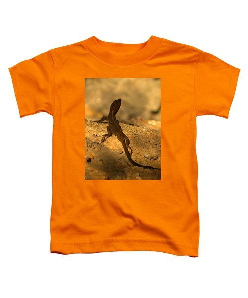 Leapin' Lizards Toddler T-Shirt by Trish Tritz