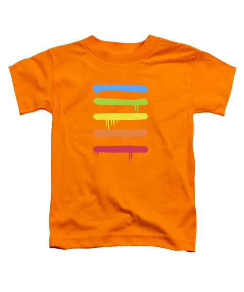 Trendy Cool Graffiti Tag Lines Toddler T-Shirt by Philipp Rietz