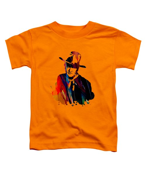 John Wayne Collection Toddler T-Shirt by Marvin Blaine