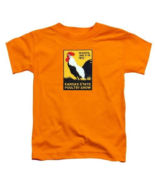 1915 Kansas Poultry Fair Toddler T-Shirt by Historic Image