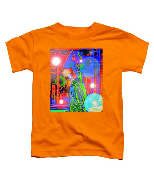 Belly Dance Toddler T-Shirt by Andy Za