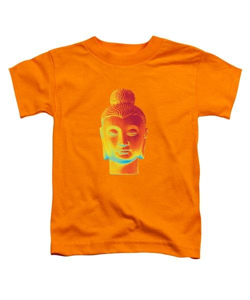 colorful Buddha - Gandhara Toddler T-Shirt by Terrell Kaucher