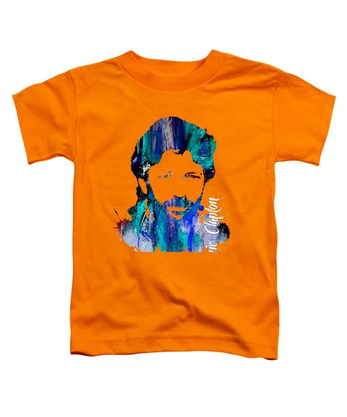Eric Clapton Collection Toddler T-Shirt by Marvin Blaine